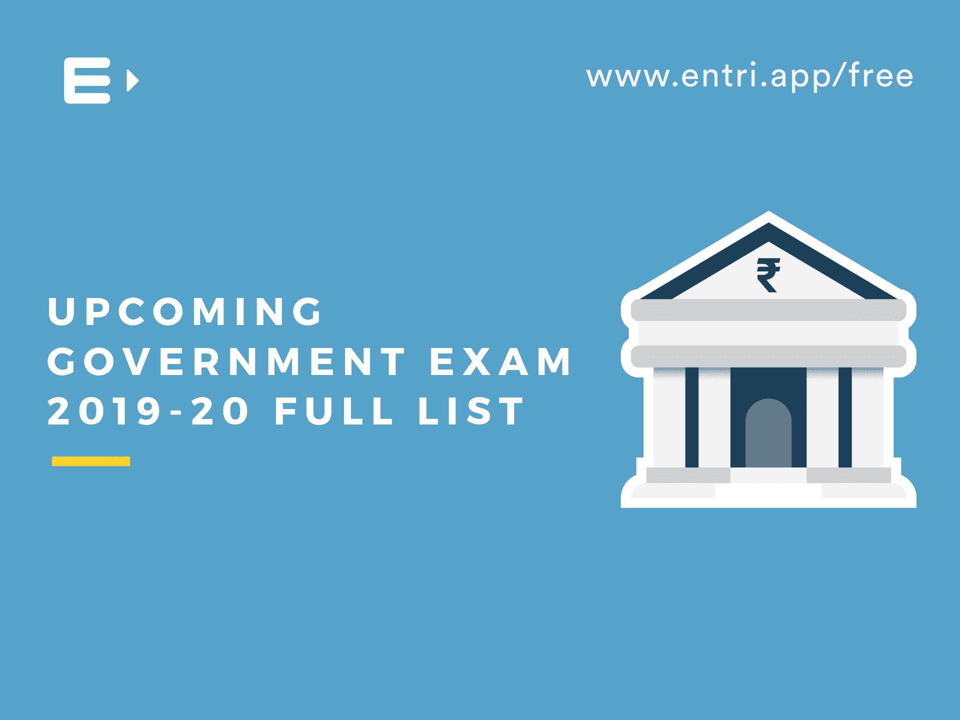 Bdo Tier List 2020.Upcoming Government Exam 2019 20 Full List Entri Blog
