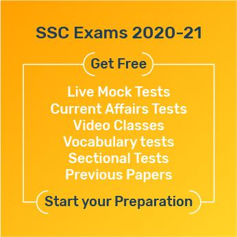 SSC Exams 2020 21