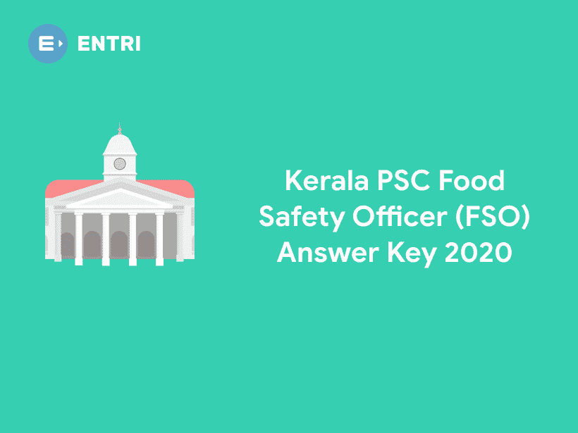 Kerala PSC FSO Food Safety Officer Answer Key 2020 Out ...