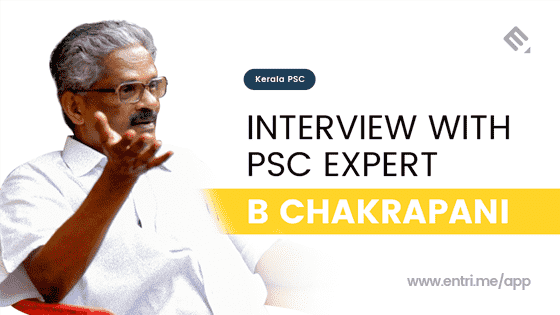 Interview with PSC Expert B Chakrapani