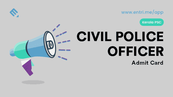 How to Download PSC Civil Police Officer Admit Card