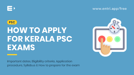 How to apply for Kerala PSC Exams
