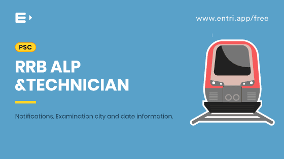 RRB ALP and Technician: Examination city and date information for Computer based test