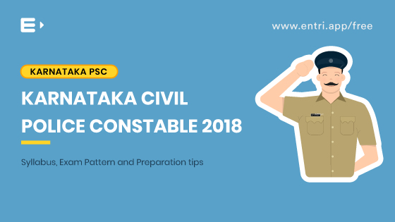 Karnataka Civil Police Constable Syllabus & Exam Pattern 2018