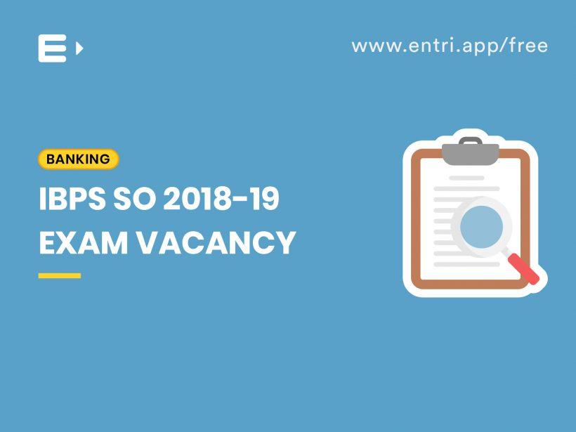 IBPS SO Vacancy