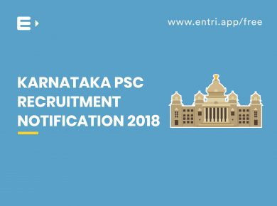 KPSC FDA and SDA Recruitment 2019