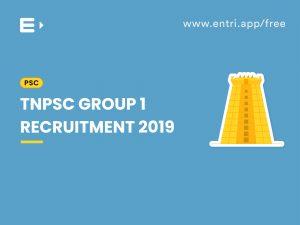 TNPSC Group I notification