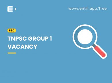 TNPSC Group 1 Vacancy