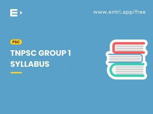 TNPSC group I syllabus