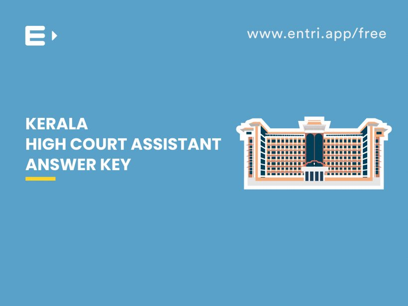kerala high court assistant answer key