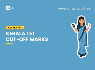 Kerala TET Cut-off marks