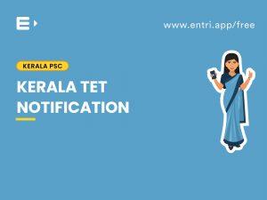 Kerala TET notification