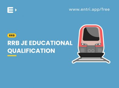 RRB JE Educaional qualification