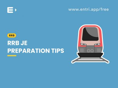 RRB JE Preparation tips