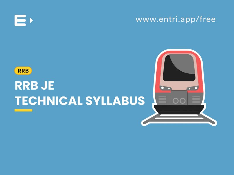 RRB JE technical syllabus
