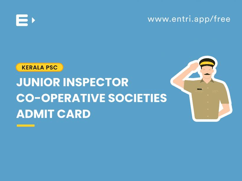 junior inspector admit card
