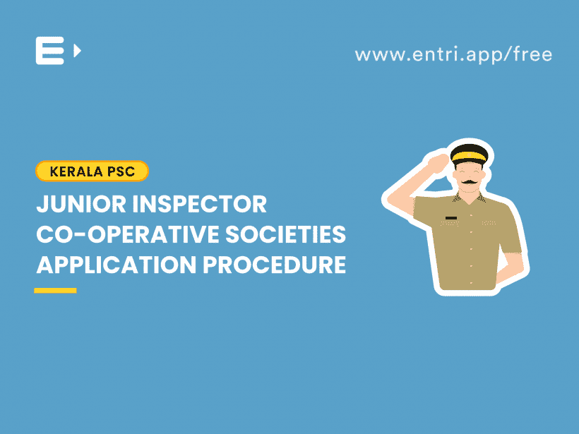 junior inspector application procedure