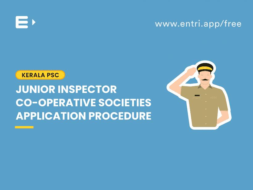 junior inspector application procedure