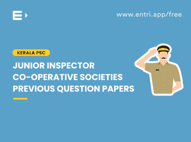 junior inspector previous question paper
