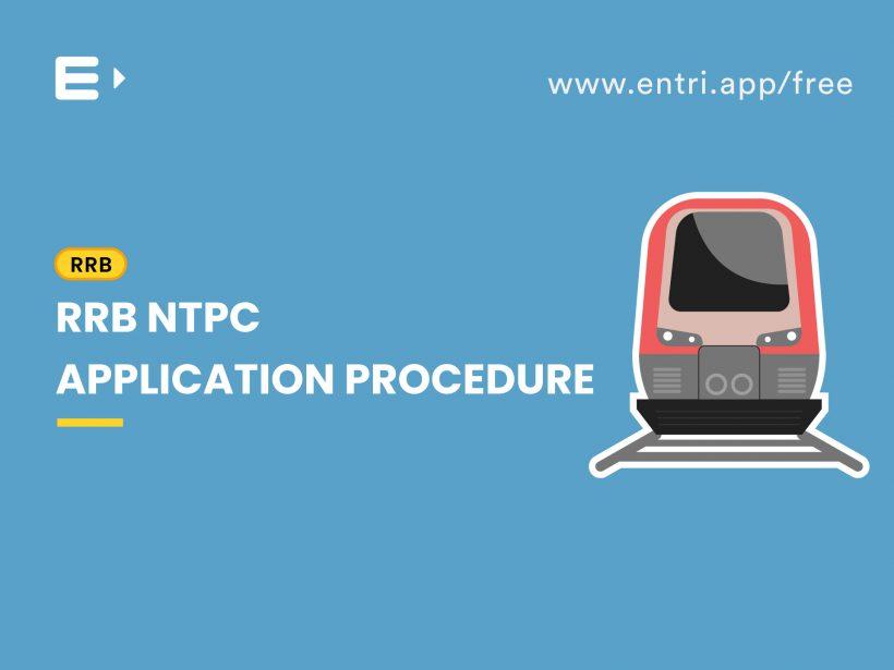 RRB NTPC Application procedure