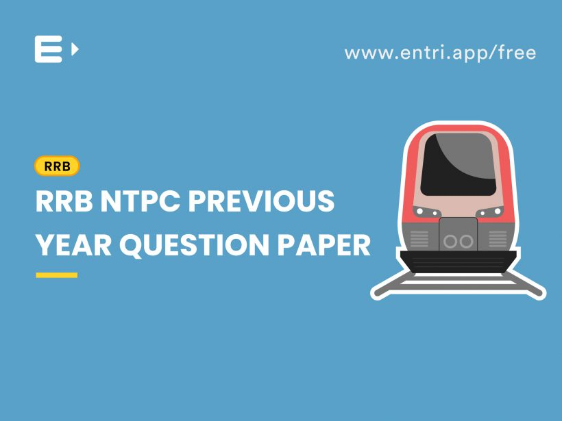 RRB NTPC previous question paper