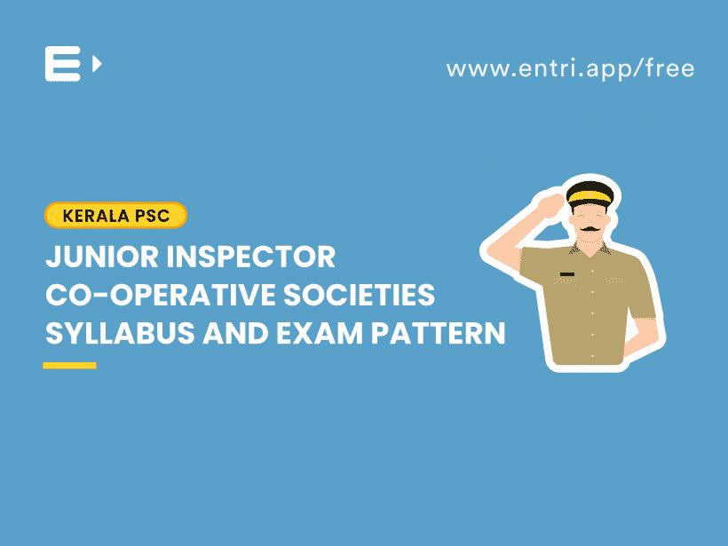 junior inspector syllabus