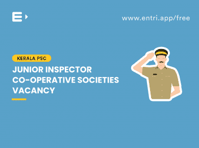 Junior Inspector vacancy