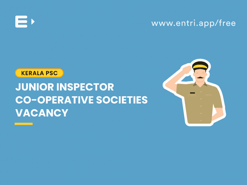 Junior Inspector vacancy
