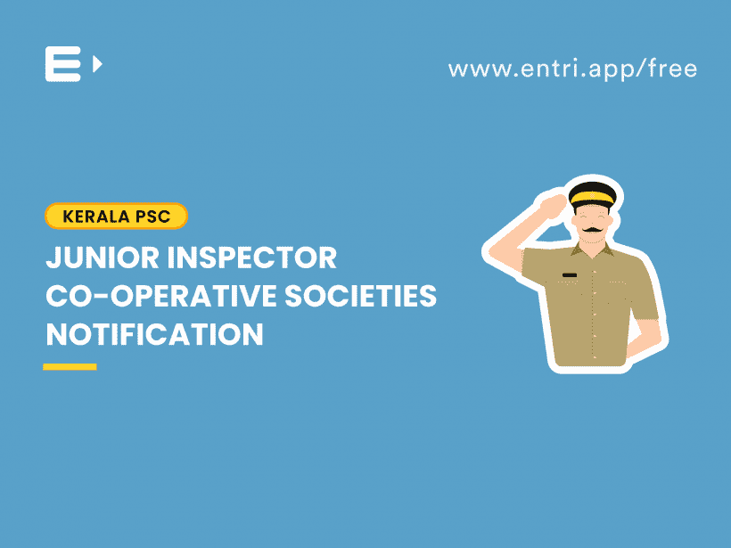 junior inspector notification
