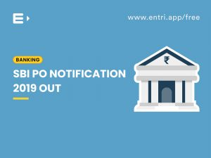 SBI PO Notification