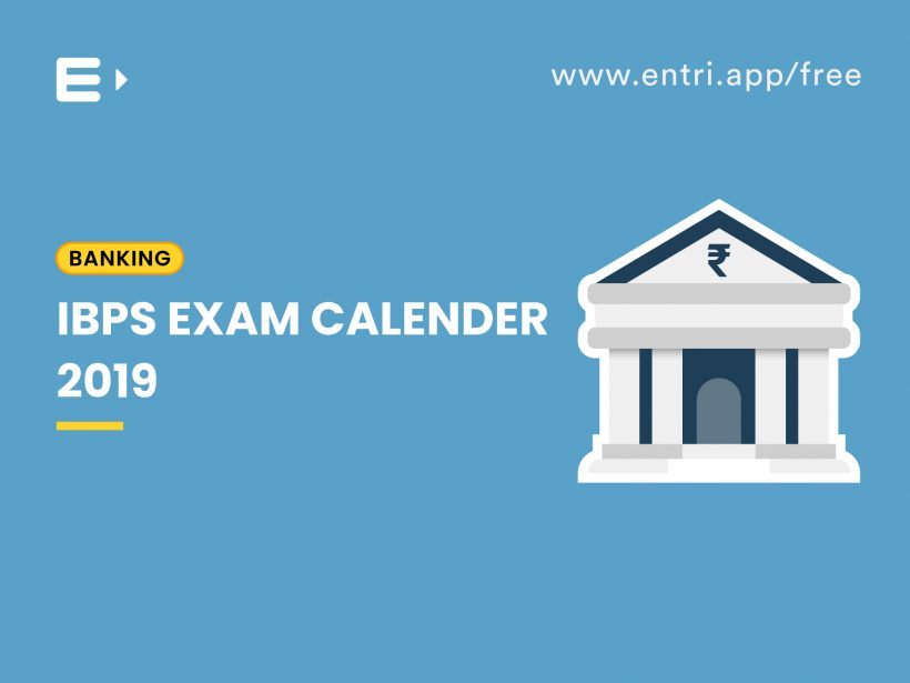 ibps exam calendar 2019