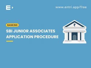 SBI application procedure
