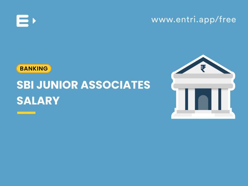 sbi junior associates salary