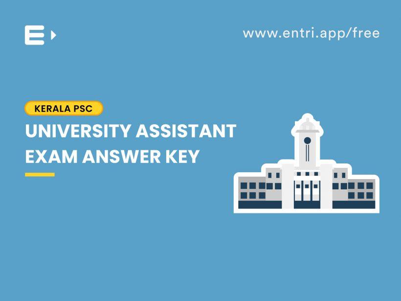 university assistant answer key