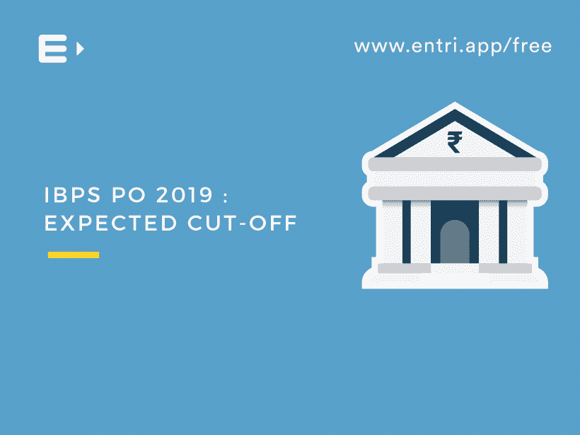 ibps po 2019 expected cut-off