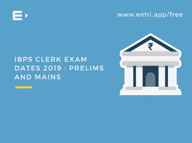 ibps clerk 2019 exam dates:prelims and mains