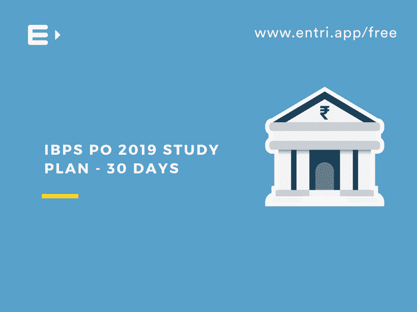IBPS PO Study plan