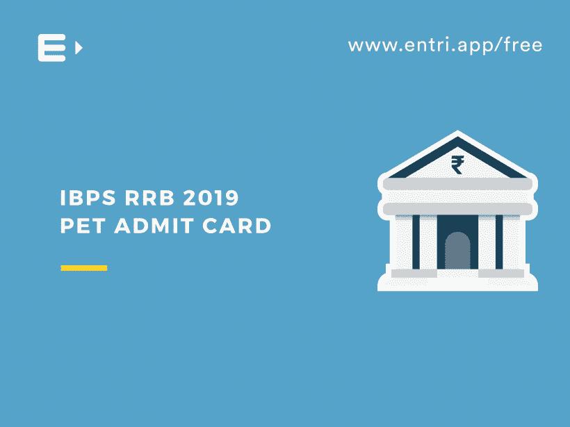 IBPS RRB PET Admit Card