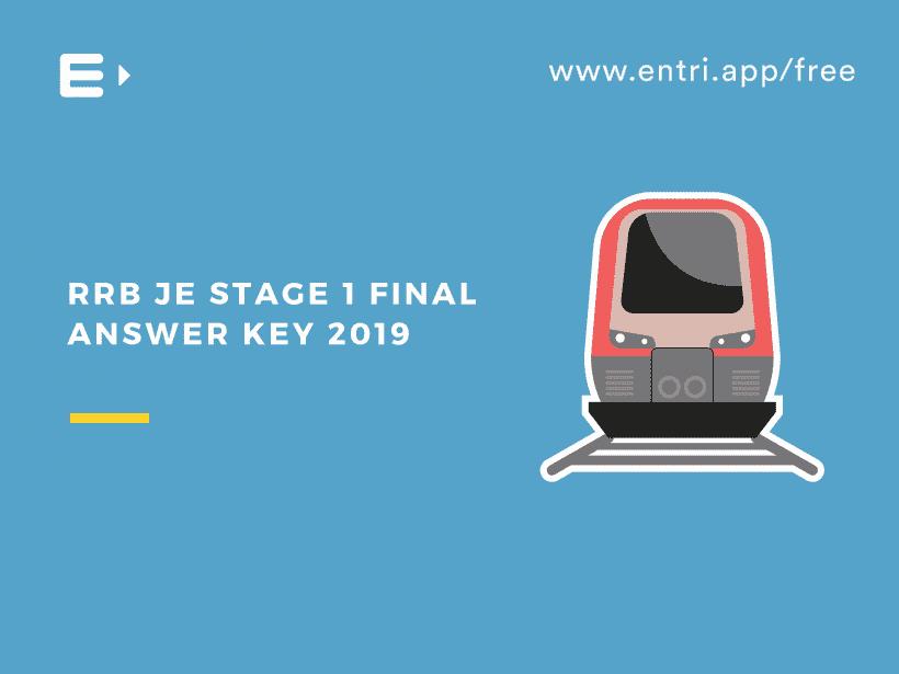 RRB JE final answer key