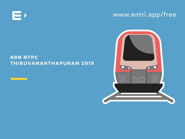 RRB NTPC Thiruvananthapuram