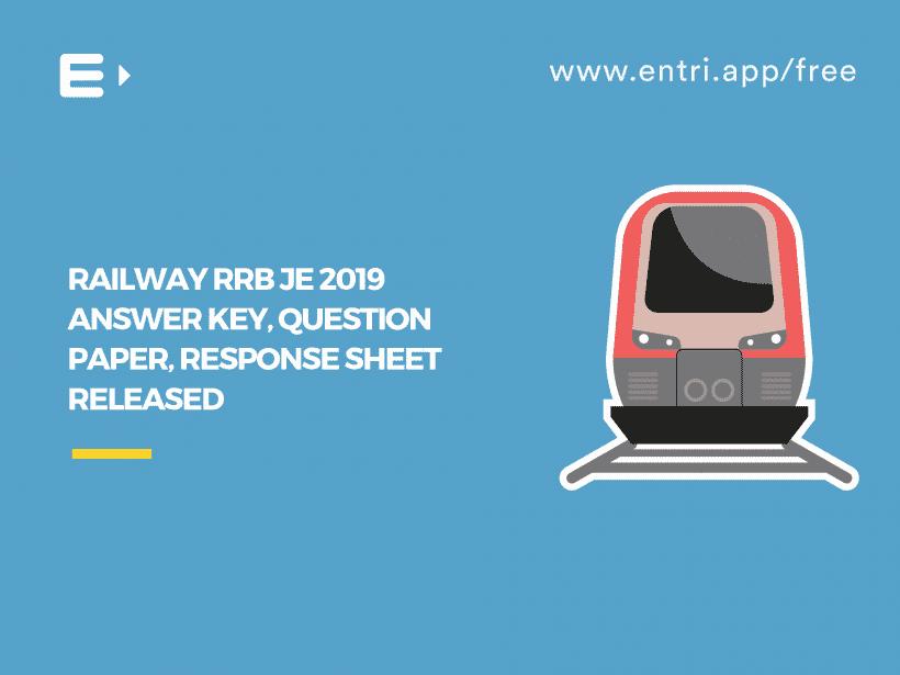 rrb je 2019 answer key