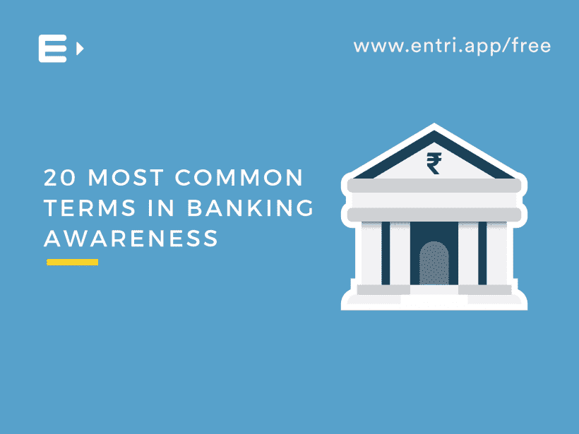 Banking Awareness 20 Most Common Terms