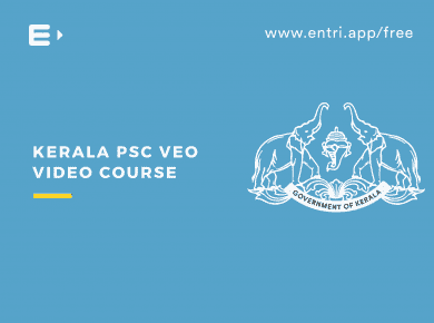 kerala psc veo video course