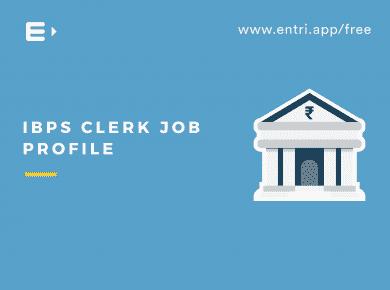 IBPS CLERK JOB Profile