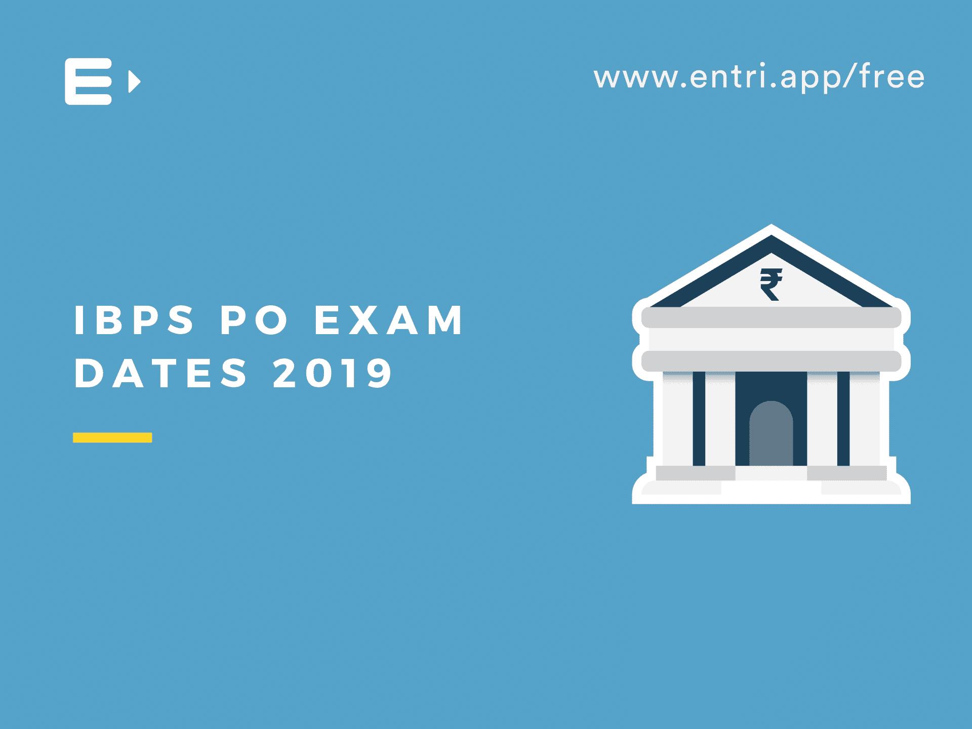 ibps po exam form date 2014