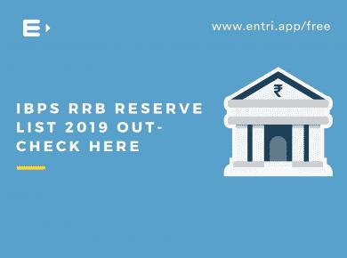 IBPS RRB Reserve List 2019