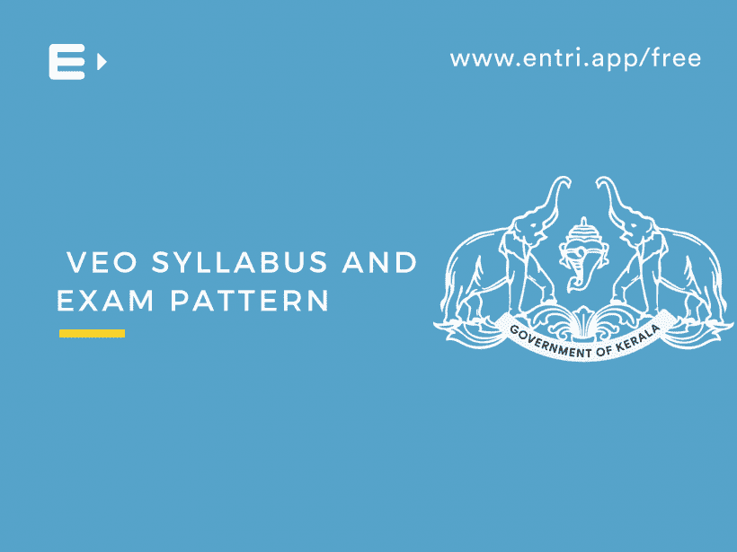 VEO SYLLABUS and Exam Pattern