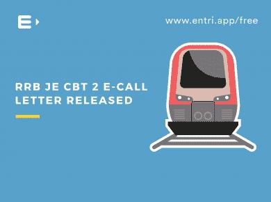 RRB JE CBT 2 E-call Letter