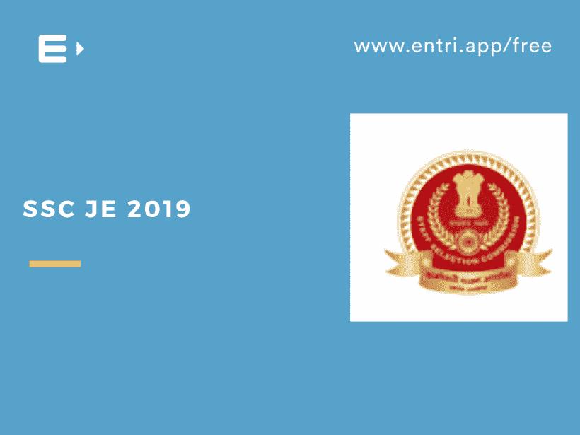 SSC JE 2019