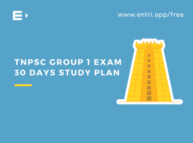 TNPSC Group 1 30 Days Study Plan